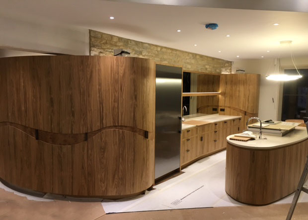 Layouts for contemporary kitchens