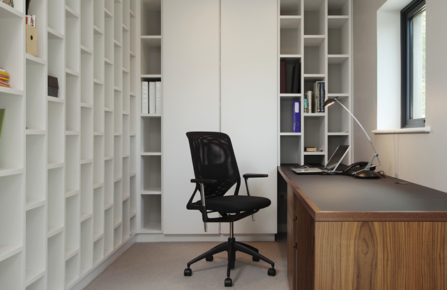 Bespoke furniture in the home office