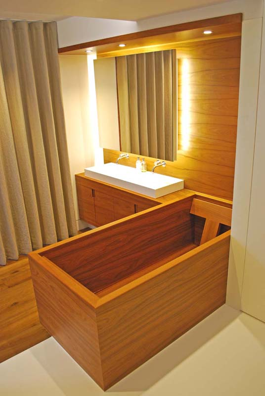 Why have a wooden bath?