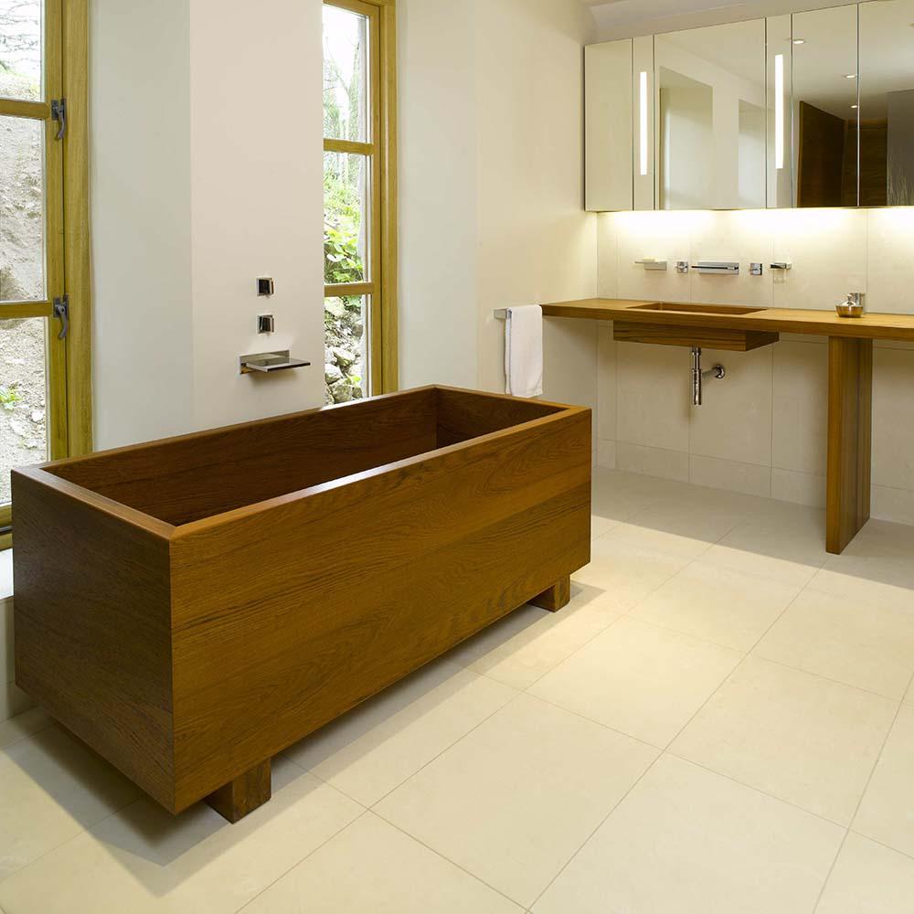 Handmade Teak Bathtubs
