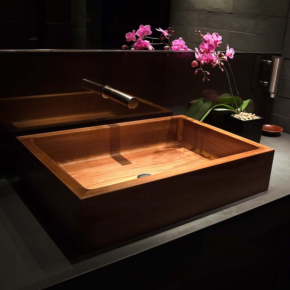 Handmade Luxury Teak Basins