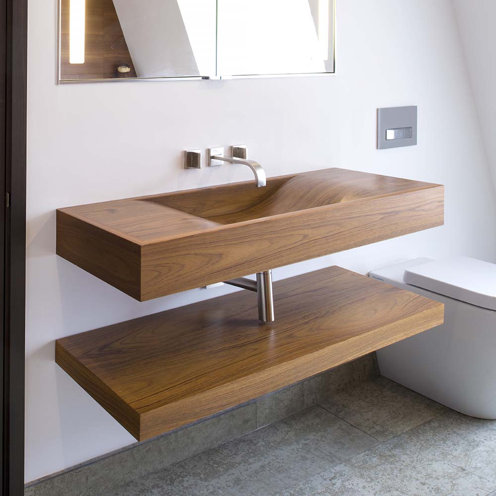 Bespoke Luxury Wooden Basins